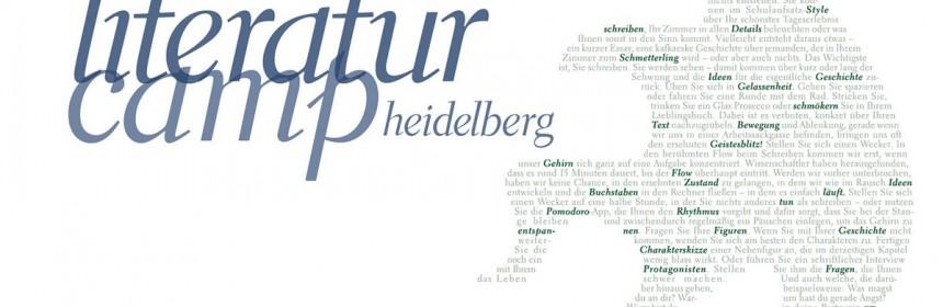 Logo Literaturcamp Heidelberg