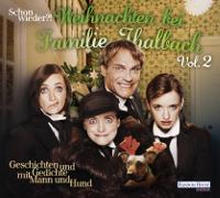 Katharina, Anne und Nellie Thalbach sowie Pierre Besson mit einem Hund. Hörbuchcover.